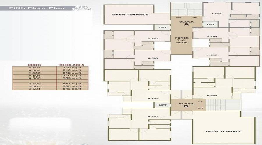 Bravo Noor Arcade I Floor Plan