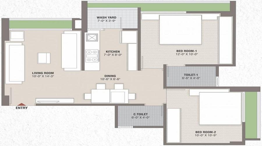 Smarak Sthapana Parisar Floor Plan