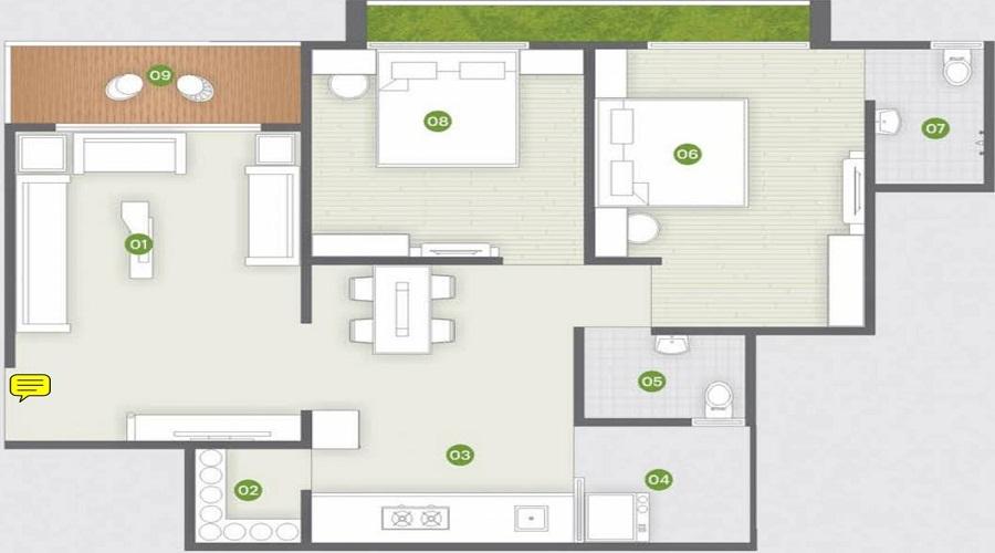 Shree Vallabh Devgram Residency Floor Plan