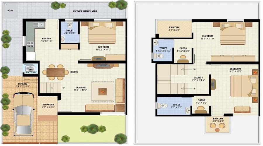 Hiramani Alok City Floor Plan