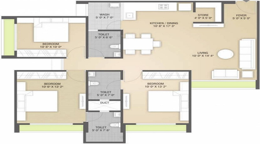 Nilkanth Dharm Lekh Floor Plan