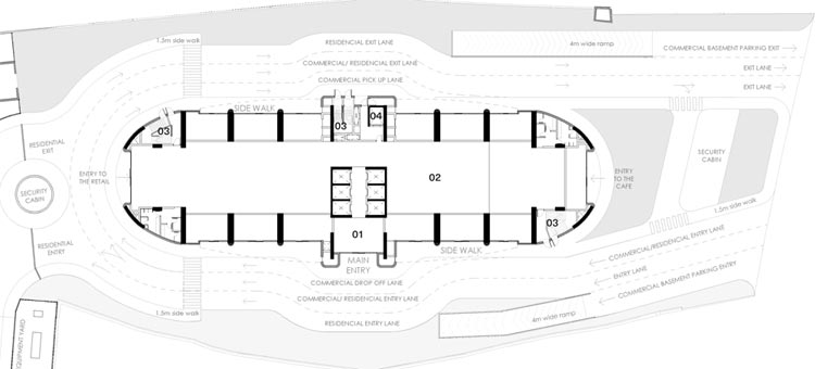 Total Environment Workcations Floor Plan