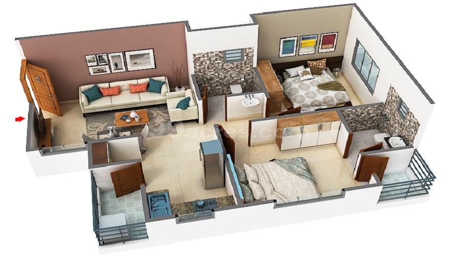 Navpadh Kalatirth Premium Floor Plan
