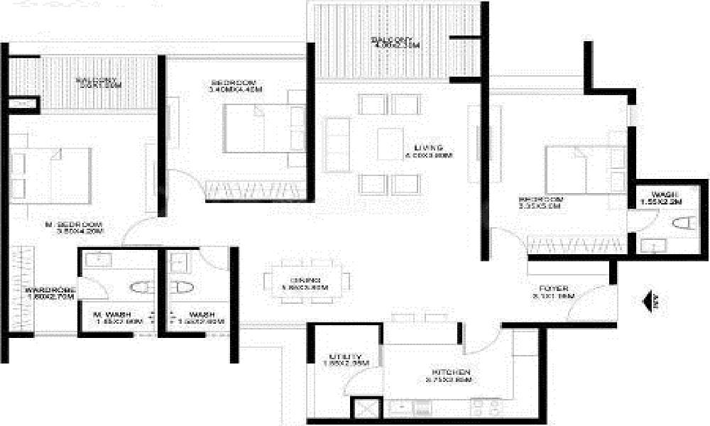 Godrej United Floor Plan