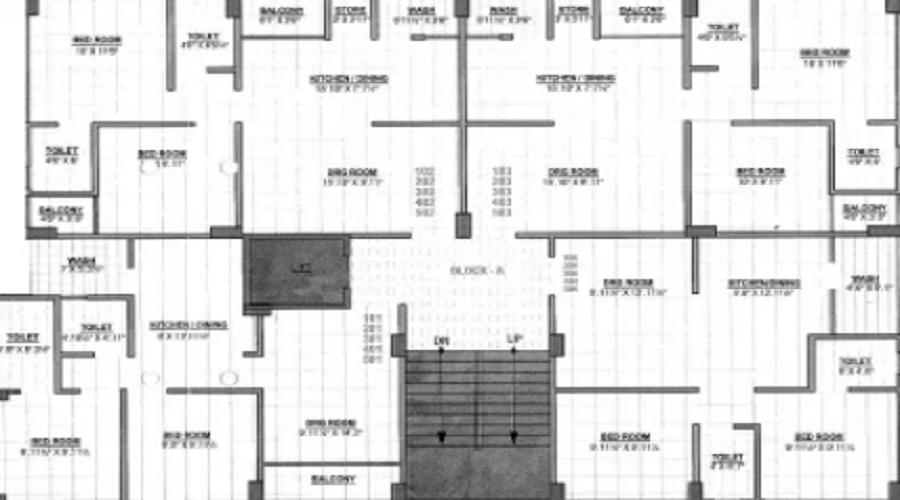 Vallabh Empire Heights Floor Plan