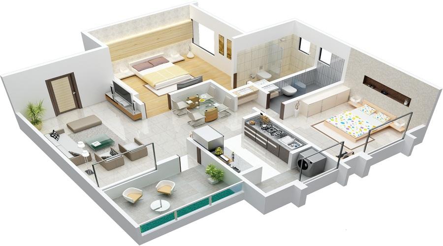 Nirvana Devki Residency Floor Plan