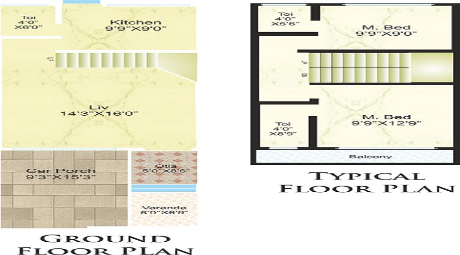 Jem Green Meadows Villa Floor Plan