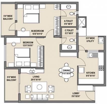 Adarsh Hills Floor Plan
