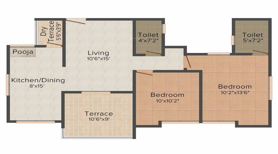 F5 Silver Crest Block B Floor Plan