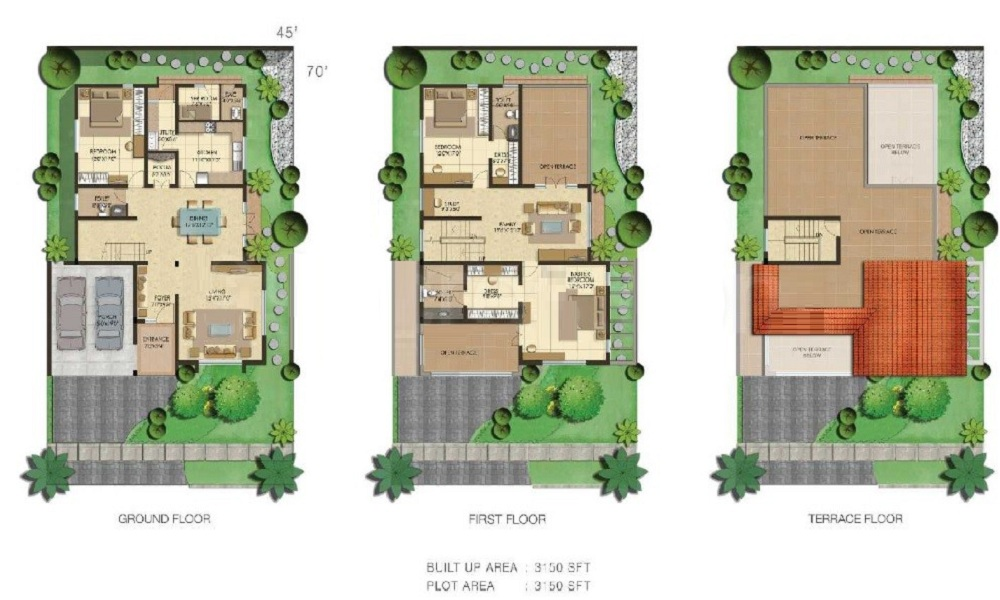 Adarsh Serenity Floor Plan