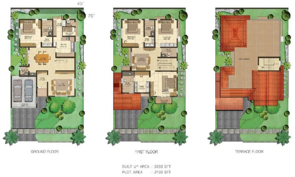 Adarsh Serenity Floor Plan