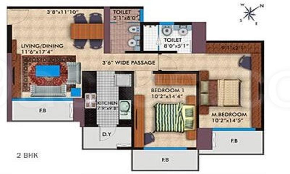 Parsvnath Platinum Floor Plan