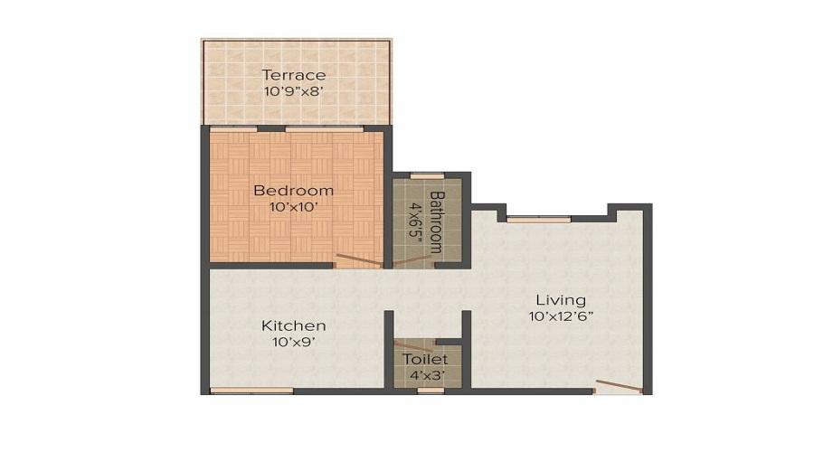 Meghaswana Silver Winds Floor Plan