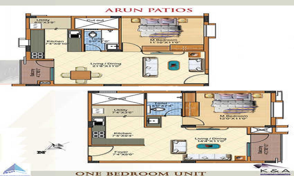 Arun Patios Floor Plan