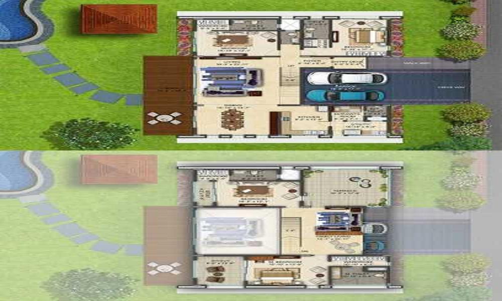 Assetz Clover Greens Floor Plan