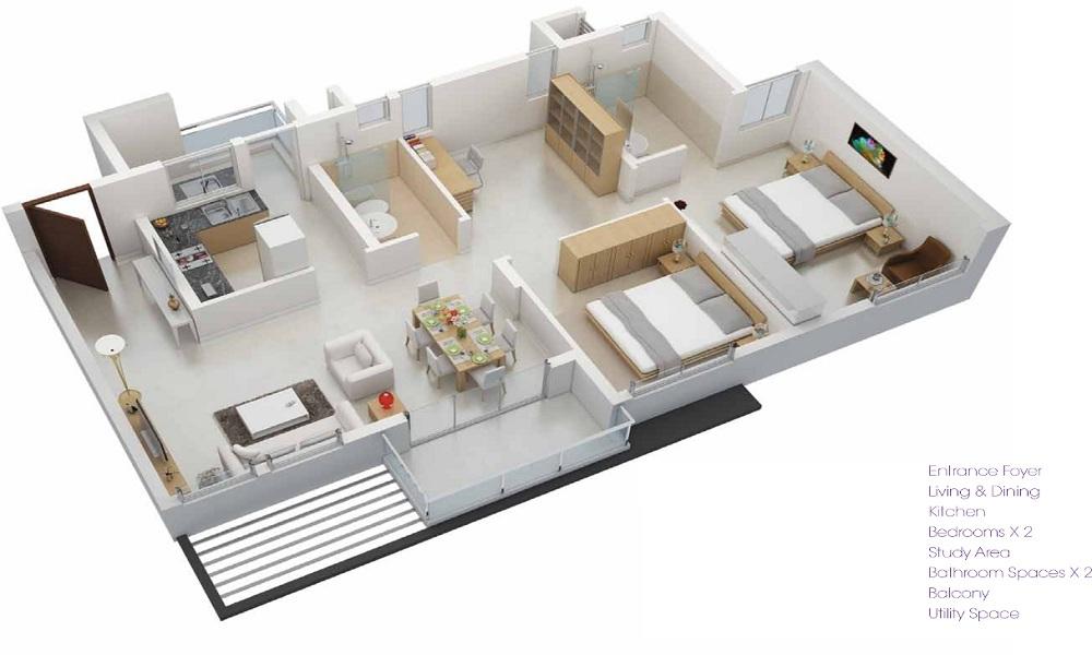 Assetz Homes East Point Floor Plan