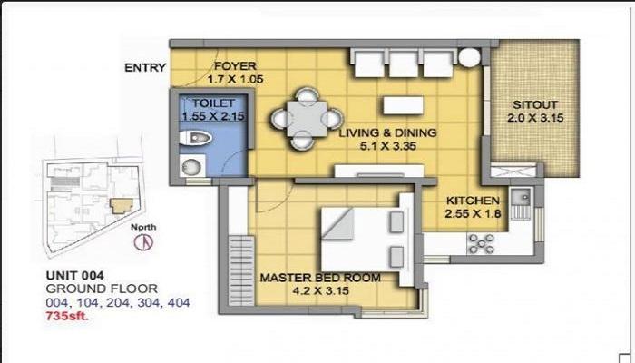 ATZ Rockview Floor Plan