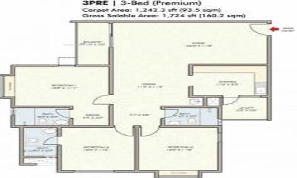 Bharat Niliya Floor Plan