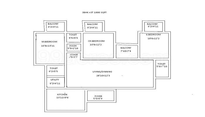 Brigade Harmony Floor Plan