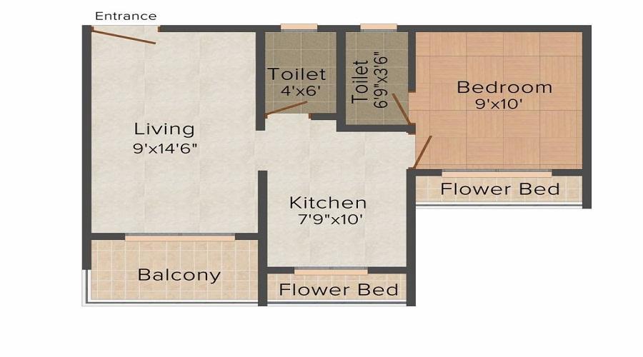 Devkrupa Devkrupa Mangala Residency Floor Plan