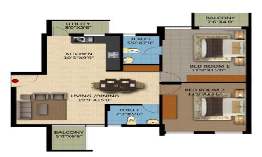 Canopy Classic Floor Plan