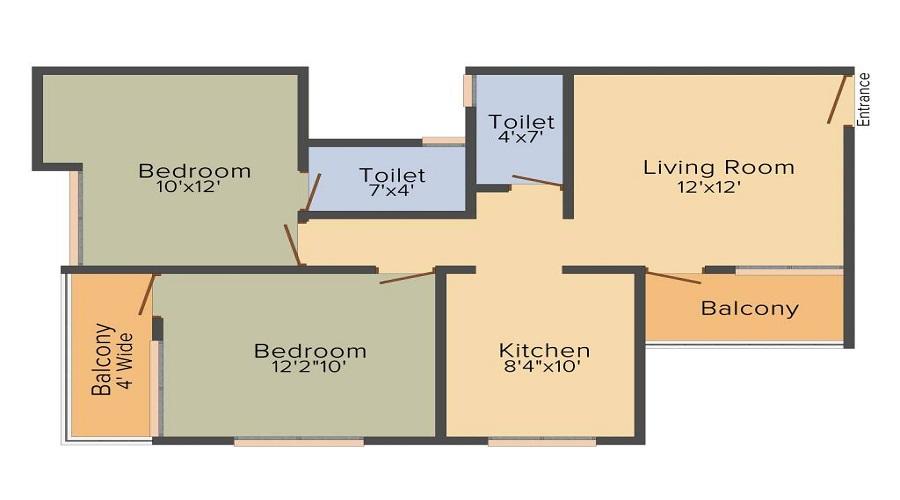 Prathamesh Samruddhi Floor Plan