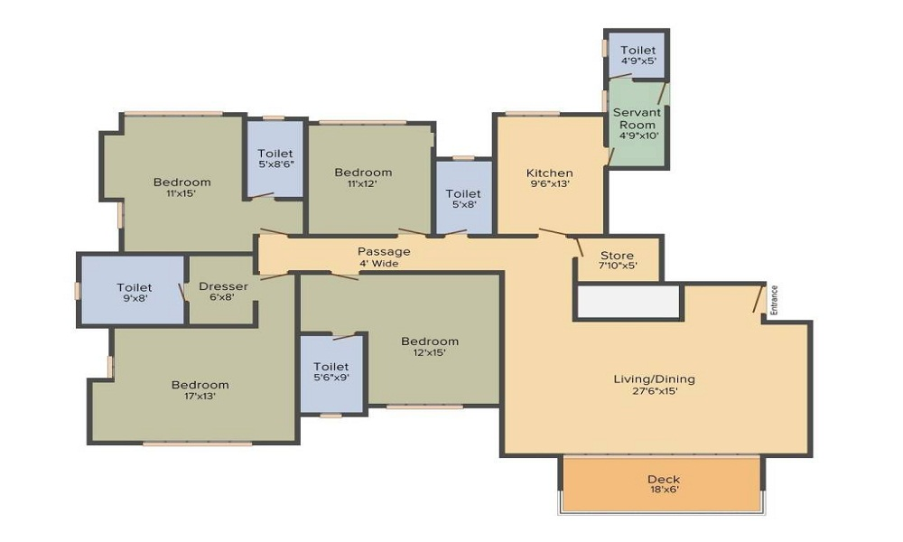 Parsvnath Srishti Floor Plan