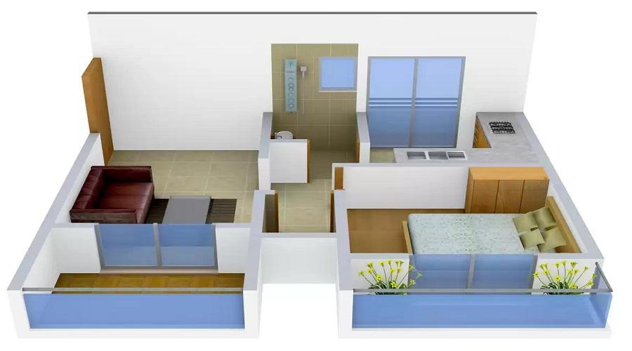 Parth Shree Renuka Silver Floor Plan