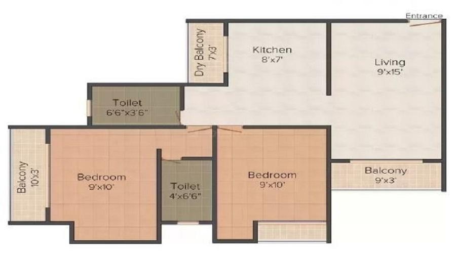 Pioneer Heritage Residency 2 Floor Plan