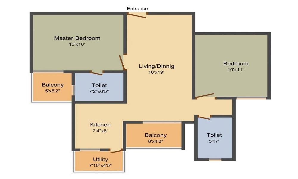 Daadys Elixir Floor Plan
