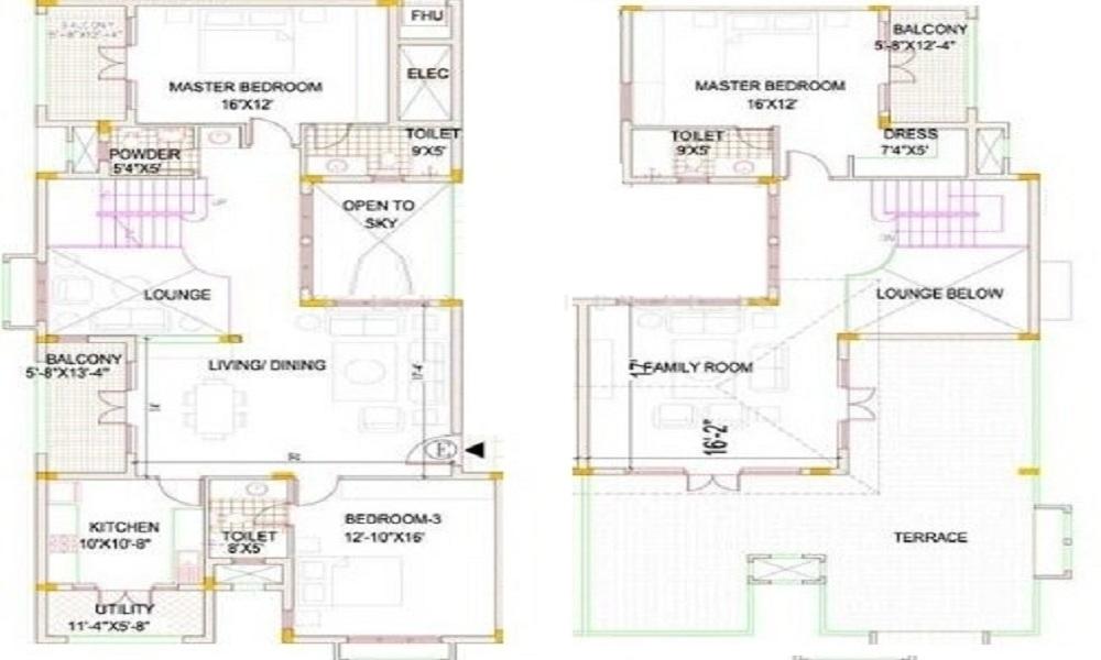 Devinarayan Whispering Meadows Floor Plan