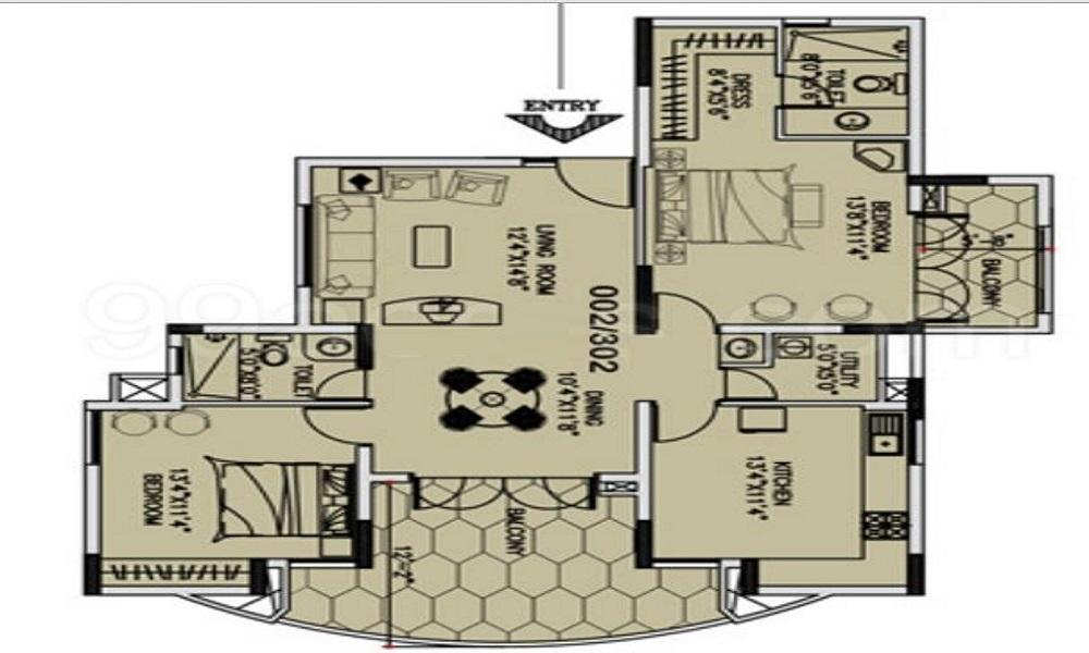Duo Associates Duo Rhythm Floor Plan