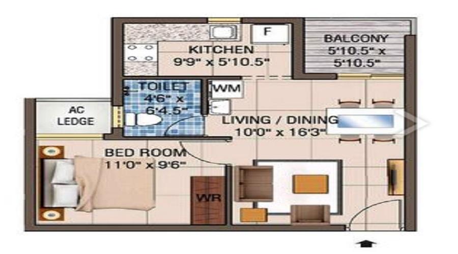 Alliance Galleria Residences Floor Plan