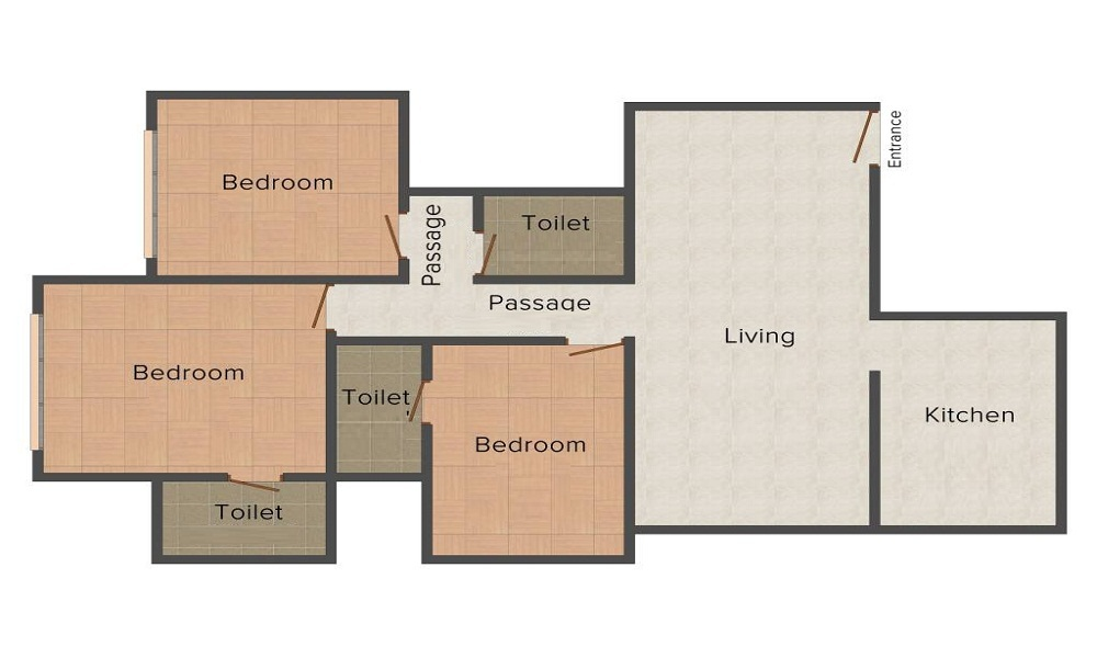 Prateek Edifice Floor Plan