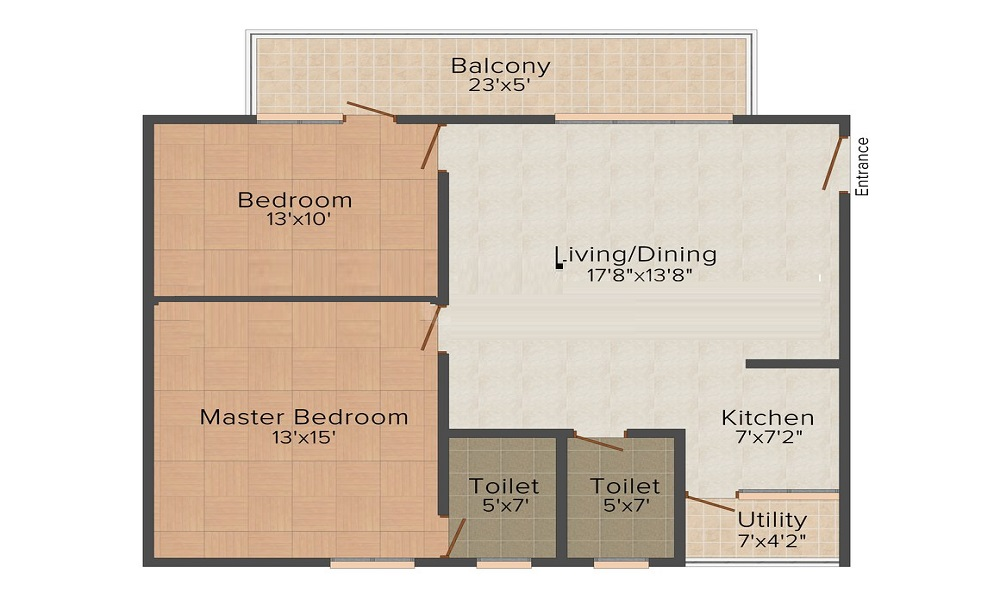 Fortuna Constructions Fortuna ICON Floor Plan