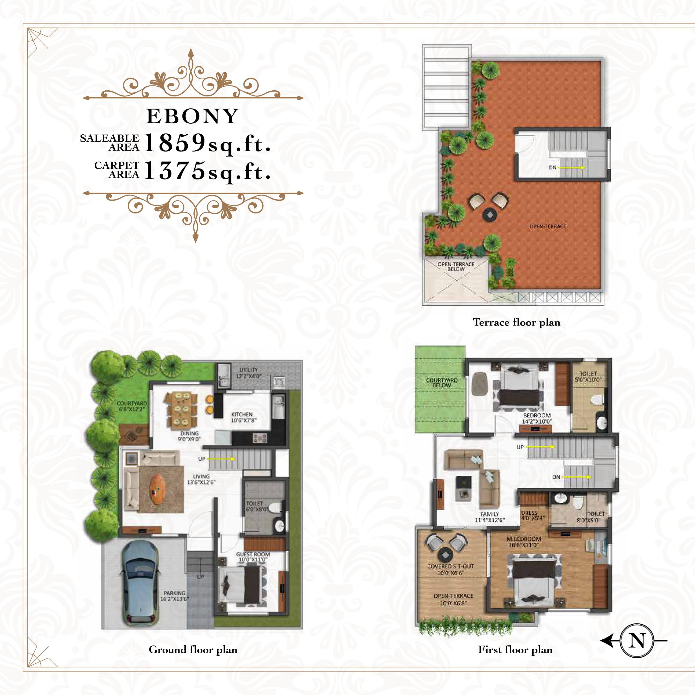 Shriram Chirping Grove Floor Plan