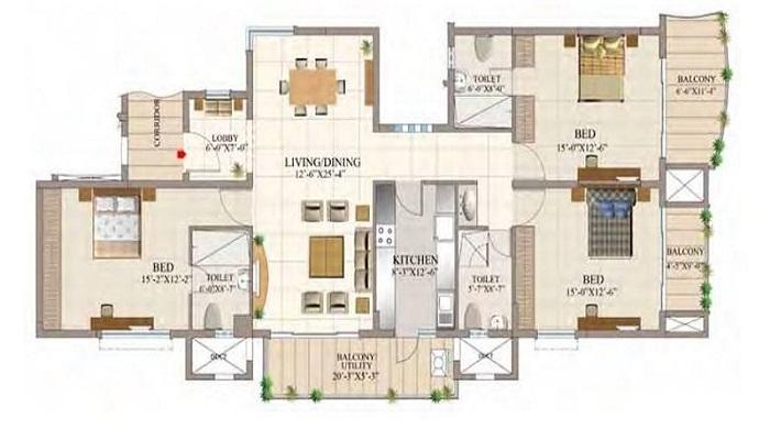 HM Constructions Tropical Tree Floor Plan