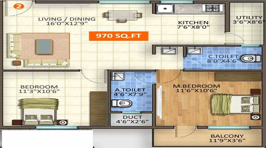 Kingston Lifestyle Floor Plan