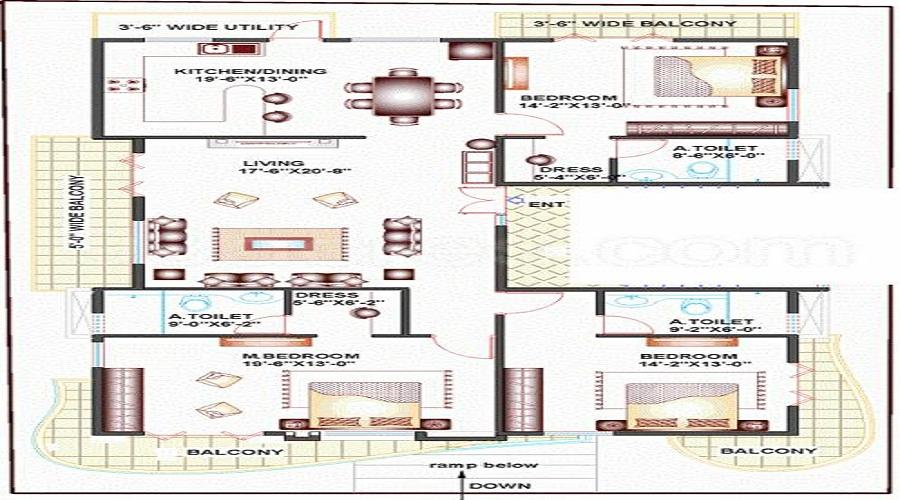 Amigo Grande Floor Plan
