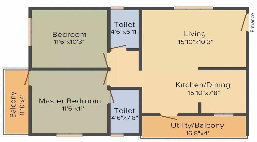 Amigo Victory Floor Plan