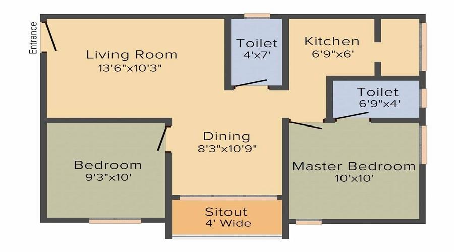 Shriram Southern Crest Phase 2 Floor Plan