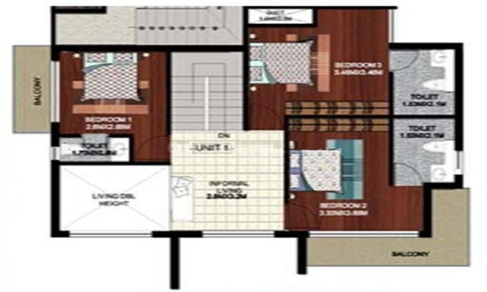 Ittina Properties Tattva Saras Floor Plan