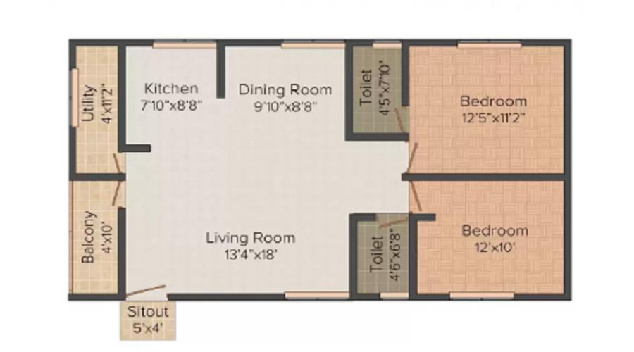 Privilege Sai Springs Floor Plan