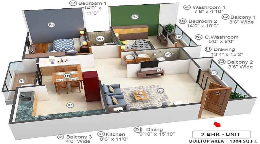 Pyramid Watsonia Floor Plan