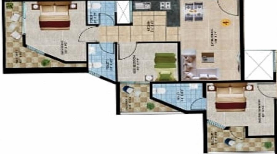 Preeti Proximity Floor Plan