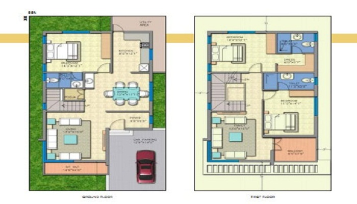 JR Housing Greenpark Lakefront Floor Plan