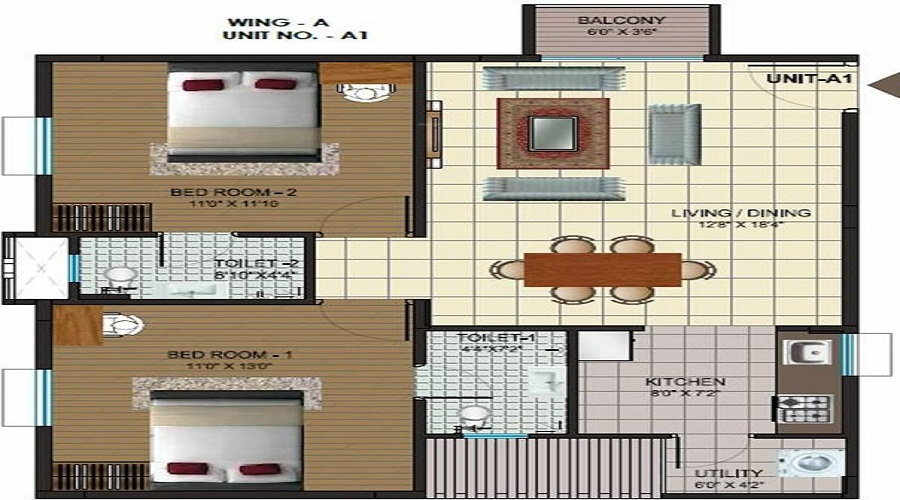 Alps Pleasanton Floor Plan