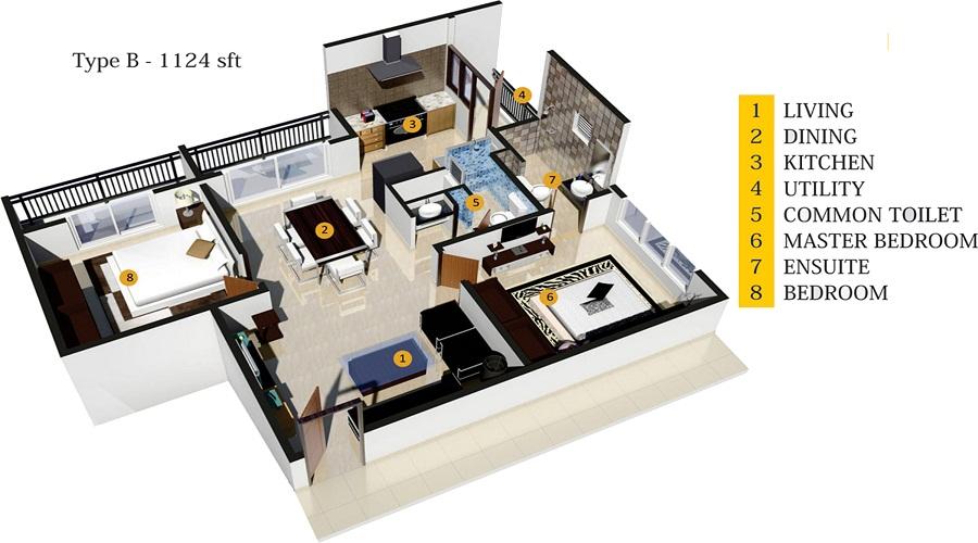 SVR Pine Ridge Floor Plan
