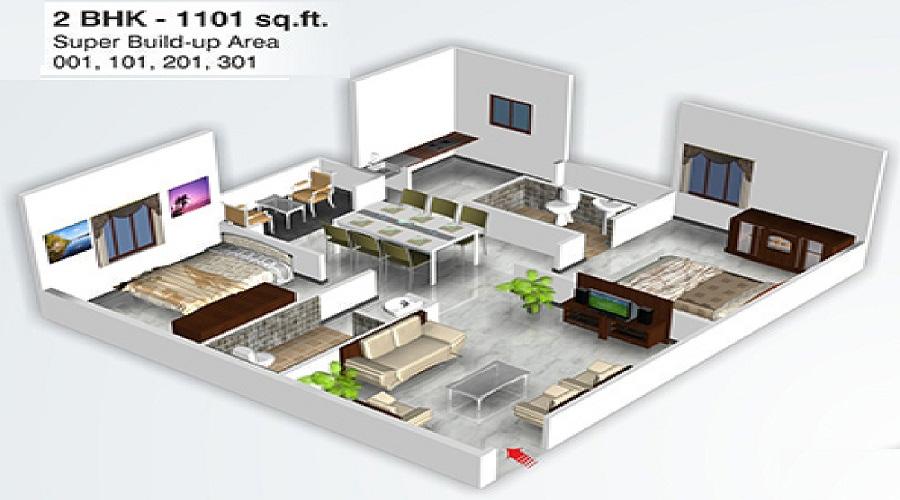 Sri Lakshmi Venkateshwara Developers Northbrooke Floor Plan
