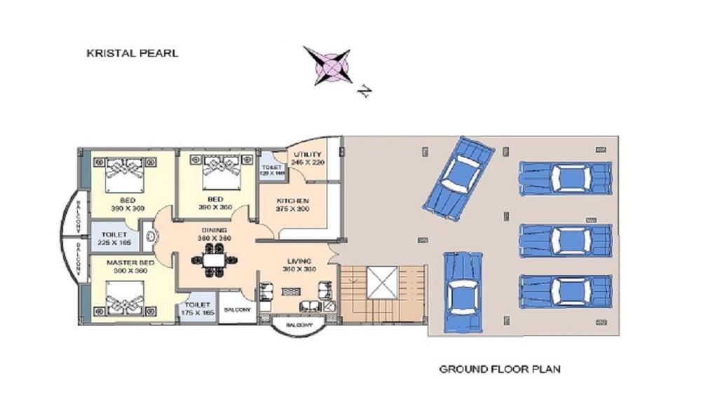 Kristal Group Jasper Floor Plan